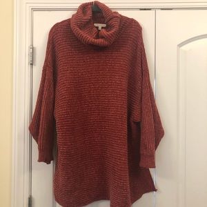 NWOT Reborn J Cowl-neck sweater - 2X